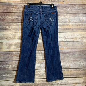 7 For All Mankind A Pocket Boot Cut 27 Short